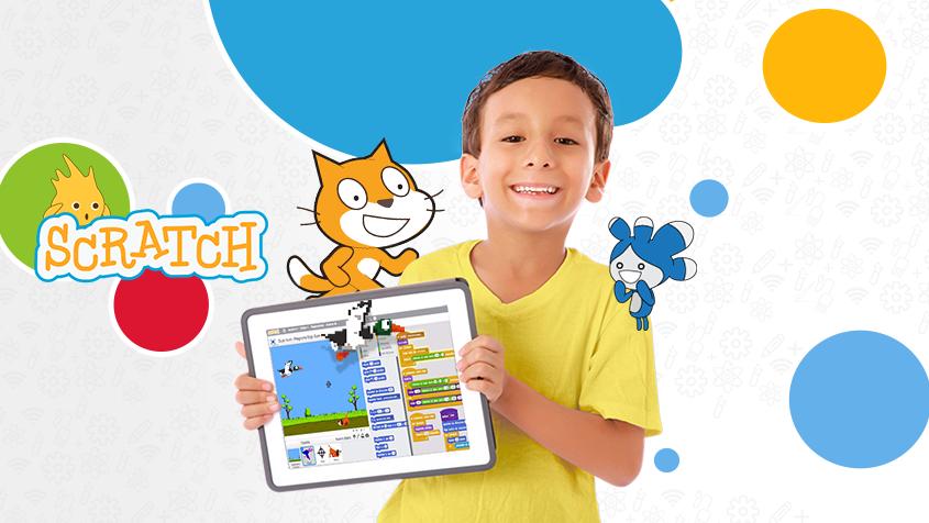 Programacion de videojuegos con Scratch para ninos y ninas