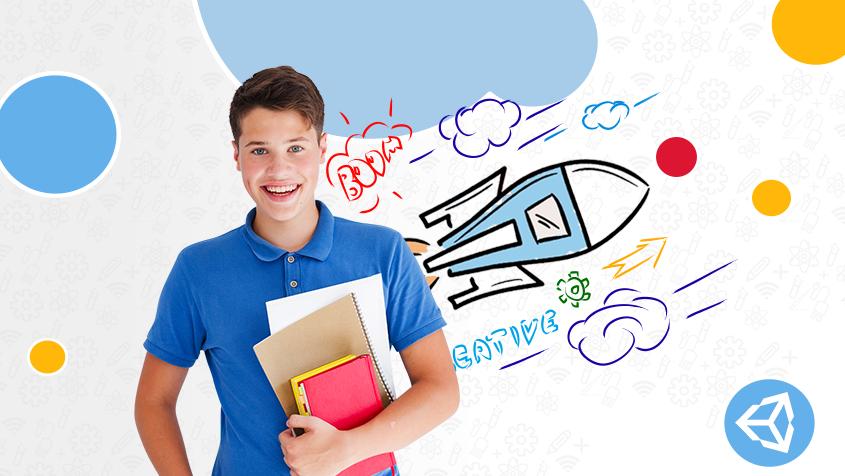 Programacion de videojuegos con Unity para jovenes y adolescentes